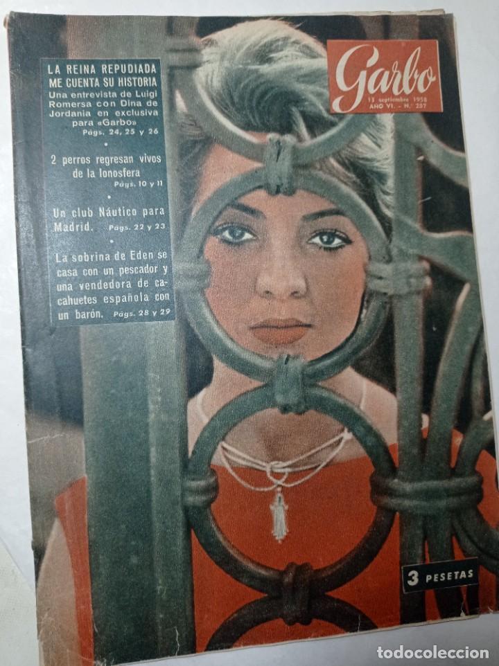 REVISTA GARBO 287 AÑO 1958 EN PORTADA SARA MONTIEL, WINSTON CHURCHILL (Coleccionismo - Revistas y Periódicos Modernos (a partir de 1.940) - Revista Garbo)
