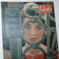 Coleccionismo de Revista Garbo: REVISTA GARBO 287 AÑO 1958 EN PORTADA SARA MONTIEL, WINSTON CHURCHILL. Lote 284592068