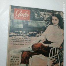 Coleccionismo de Revista Garbo: REVISTA GARBO 282 AÑO 1958 HUSSEIN DE JORDANIA MISS UNIVERSO. Lote 284592128