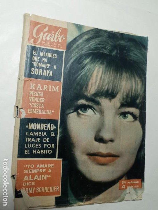 REVISTA GARBO 600 AÑO 1964 ROMY SCHNEIDER MONTEÑO SORAYA (Coleccionismo - Revistas y Periódicos Modernos (a partir de 1.940) - Revista Garbo)