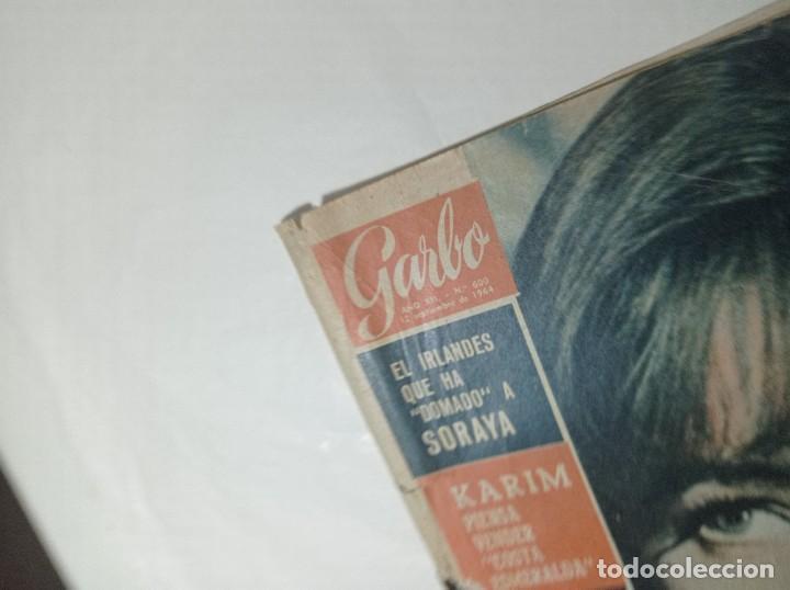 Coleccionismo de Revista Garbo: Revista garbo 600 año 1964 Romy Schneider monteño Soraya - Foto 2 - 284592153