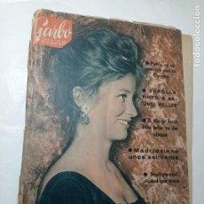 Coleccionismo de Revista Garbo: REVISTA GARBO 493 AÑO 1962 GAUDÍ BARCELONA SOROLLA PINTO A RAQUEL MEYER FARAH DIBA PAOLA CORONA. Lote 284592188
