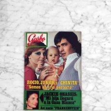 Coleccionismo de Revista Garbo: GARBO - 1971 - ROCIO DURCAL, JUNIOR, FRANKENSTEIN, LUIS GARDEY, AUDREY HEPBURN, ALFONSO SANCHEZ. Lote 286838428