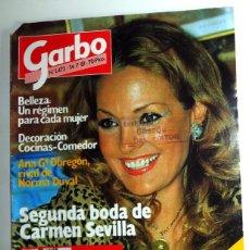 Coleccionismo de Revista Garbo: REVISTA GARBO Nº1472 JULIO 1981 ANTIGUA - ANA OBREGÓN NORMA DUVAL - PÓSTER PEDRO PICAPIEDRA -. Lote 287255578