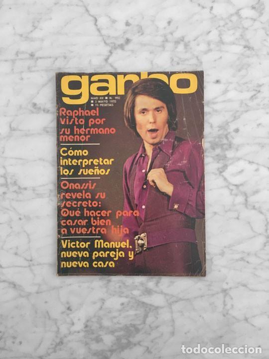 GARBO - 1972 - RAPHAEL, JORGE MISTRAL, JOAN MANUEL SERRAT, IRENE MIR, NURIA TORRAY, VICTOR MANUEL (Coleccionismo - Revistas y Periódicos Modernos (a partir de 1.940) - Revista Garbo)