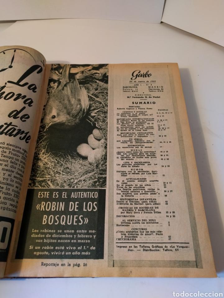 Coleccionismo de Revista Garbo: Revista Garbo. 1953. - Foto 4 - 287675343
