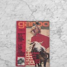 Coleccionismo de Revista Garbo: GARBO - 1972 - JUANJO MENENDEZ, ENCARNA PASO, RAFAEL DURAN, LOS DIABLOS, ANGEL NIETO, SLADE. Lote 287752158