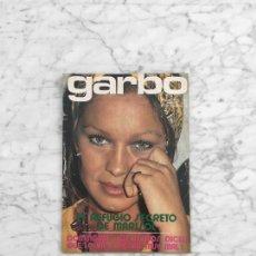 Coleccionismo de Revista Garbo: GARBO - 1972 - MARISOL, PAUL MCCARTNEY, OMAR SHARIF, AUDREY HEPBURN, JAIME DE MORA, LUIS AGUILE. Lote 287753633