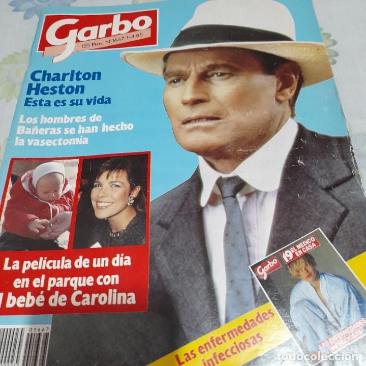 REVISTA GARBO NUMERO 1667 CHARLTON HESTON (Coleccionismo - Revistas y Periódicos Modernos (a partir de 1.940) - Revista Garbo)