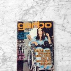 Coleccionismo de Revista Garbo: GARBO - 1972 - SARA MONTIEL, KATIA LORITZ, ANALIA GADE, SANCHO GRACIA, GILBERT MONTAGNE, RITA PAVONE. Lote 289414348