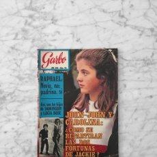 Coleccionismo de Revista Garbo: GARBO - 1970 - RAPHAEL, MIGUEL BOSE, PAOLA, LUCIA DOMINGUIN, JANE BIRKIN, JOHNNY HALLYDAY. Lote 289438533