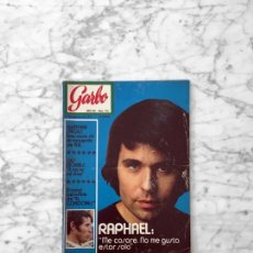 Coleccionismo de Revista Garbo: GARBO - 1971 RAPHAEL, GINA LOLLOBRIGIDA, GUNTER SACHS, JESS FRANCO, TONY RENIS, LUIS MORRIS, RAIMON. Lote 289455138