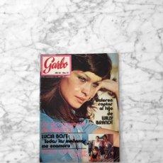 Coleccionismo de Revista Garbo: GARBO - 1971 - MARISOL, WILLY BRANDT, MISS MADRID, LUCIA BOSE, ANTONIO GADES, MARISA NARANJO. Lote 289456163