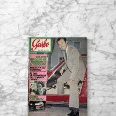 Coleccionismo de Revista Garbo: GARBO - 1971 - MANOLO ESCOBAR, TONY RONALD, ROSANNA YANNI, ALFONSO DE BORBON, ISABEL BAUZA. Lote 289462398