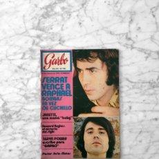 Coleccionismo de Revista Garbo: GARBO - 1972 TARYN POWER, SUSAN HAMPSHIRE, SERRAT, ROSA MORENA, FLORINDA CHICO, JEANETTE, NINO BRAVO. Lote 289465843