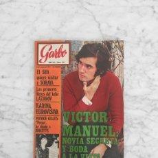 Coleccionismo de Revista Garbo: GARBO - 1971 - VICTOR MANUEL, SEAN CONNERY, SOFIA LOREN, AUDREY HEPBURN, LA PANDILLA, KARINA. Lote 289602203