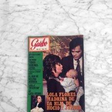 Coleccionismo de Revista Garbo: GARBO - 1971 - ROCIO DURCAL Y JUNIOR, GIACOMO AGOSTINI, ANGEL PICAZO, LUCIANA WOLF, CHARLES AZNAVOUR. Lote 289692943
