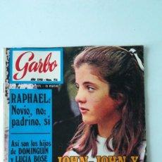 Coleccionismo de Revista Garbo: GARBO N°916.RAPHAEL, DOMINGUIN LUCÍA BOSE. MR. WELCH. 1970. Lote 289831428