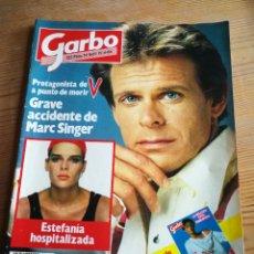 Coleccionismo de Revista Garbo: REVISTA GARBO- ACCIDENTE MARC SINGER+ESTEFANIA MÓNACO HOSPITALIZADA, N°1669,1985.. Lote 291228888