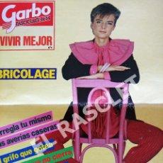 Coleccionismo de Revista Garbo: FASCICULO Nº 14 GARBO - VIVIR MEJOR - BRICOLAGE. Lote 293247938