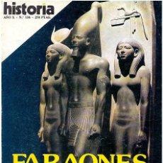 Coleccionismo de Revista Historia 16: HISTORIA 16 AÑO X NÚM 116 DIC 85 FARAONES PIRÁMIDES MADARIAGA EL PARDO ALJUBARROTA MARX. Lote 9015002
