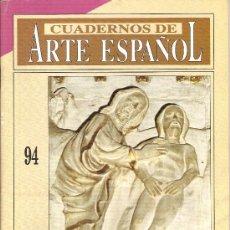 Coleccionismo de Revista Historia 16: CUADERNOS DE ARTE ESPAÑOL HISTORIA 16 Nº 94. Lote 17010271