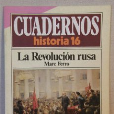 Coleccionismo de Revista Historia 16: CUADERNOS HISTORIA 16 Nº 15 LA REVOLUCIÓN RUSA. . Lote 132439594