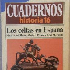 Coleccionismo de Revista Historia 16: CUADERNOS HISTORIA 16 Nº 20 LOS CELTAS EN ESPAÑA. . Lote 15087466