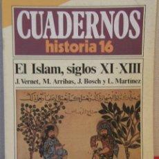 Coleccionismo de Revista Historia 16: CUADERNOS HISTORIA 16 Nº 33 EL ISLAM, SIGLOS XI-XIII. . Lote 15087990