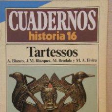 Coleccionismo de Revista Historia 16: CUADERNOS HISTORIA 16 Nº 40 TARTESSOS. . Lote 15088330