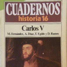Coleccionismo de Revista Historia 16: CUADERNOS HISTORIA 16 Nº 95 CARLOS V. Lote 15089515