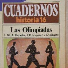 Coleccionismo de Revista Historia 16: CUADERNOS HISTORIA 16 Nº 106 LAS OLIMPIADAS. . Lote 15094706
