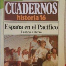 Coleccionismo de Revista Historia 16: CUADERNOS HISTORIA 16 Nº 122 ESPAÑA EN EL PACÍFICO. . Lote 15095037