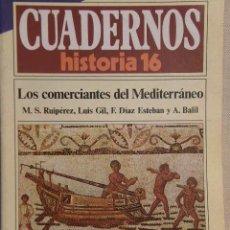 Coleccionismo de Revista Historia 16: CUADERNOS HISTORIA 16 Nº 142 LOS COMERCIANTES DEL MEDITERRÁNEO. . Lote 15102581