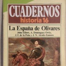 Coleccionismo de Revista Historia 16: CUADERNOS HISTORIA 16 Nº 148 LA ESPAÑA DE OLIVARES. . Lote 15102686