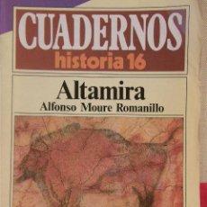 Coleccionismo de Revista Historia 16: CUADERNOS HISTORIA 16 Nº 202 ALTAMIRA. . Lote 15103750