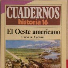 Coleccionismo de Revista Historia 16: CUADERNOS HISTORIA 16 Nº 251 EL OESTE AMERICANO. . Lote 40679897