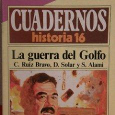 Coleccionismo de Revista Historia 16: CUADERNOS HISTORIA 16 Nº 298 LA GUERRA DEL GOLFO.. Lote 15138206