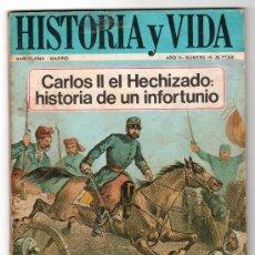 Coleccionismo de Revista Historia 16: REVISTA MENSUAL HISTORIA Y VIDA. AÑO II. Nº 16. MADRID BARCELONA JULIO DE 1969. Lote 15165437