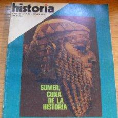 Coleccionismo de Revista Historia 16: HISTORIA 16 Nº 26 - SUMER, CUNA DE LA HISTORIA. DOCUMENTOS SECRETOS DEL PCE. PICARESCAS EN CONVENTOS. Lote 27278562