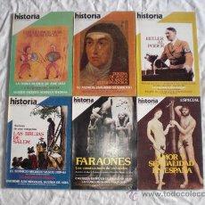 Coleccionismo de Revista Historia 16: 31 REVISTAS DE HISTORIA. Lote 18560589