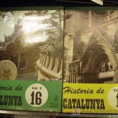 Coleccionismo de Revista Historia 16: LOTE DEL Nº1 AL 16 FASCICULOS DE HISTORIA DE CATALUNYA AÑO 1969. Lote 30765371
