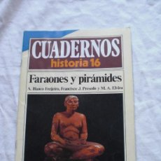 Coleccionismo de Revista Historia 16: FARAONES Y PIRÁMIDES · CUADERNOS DE HISTORIA 16. Lote 19343229
