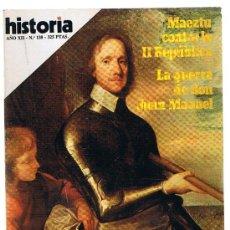 Coleccionismo de Revista Historia 16: HISTORIA 16 Nº 138.. Lote 21783246