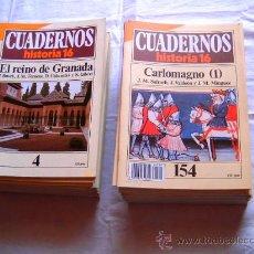 Coleccionismo de Revista Historia 16: 238 CUADERNOS DE HISTORIA 16 · EDAD ANTIGUA + EDAD MEDIA + EDAD CONTEMPORÁNEA + EDAD MODERNA. Lote 26022621
