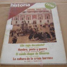 Coleccionismo de Revista Historia 16: HISTORIA 16 - EXTRA Nº 12 - ESPAÑA SIGLO XVII, ESPLENDOR Y DECADENCIA.. Lote 26593480