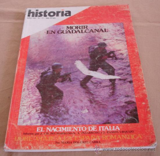 HISTORIA 16, Nº 77, SEPTIEMBRE 1982. (Coleccionismo - Revistas y Periódicos Modernos (a partir de 1.940) - Revista Historia 16)