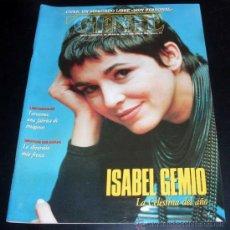 Coleccionismo de Revista Historia 16: GENTE - REVISTA SEMANAL DIARIO 16 - Nº 273 - 10 JULIO 1994 - ISABEL GEMIO. Lote 27867634