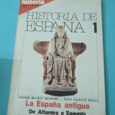 Coleccionismo de Revista Historia 16: HISTORIA 16. HISTORIA DE ESPAÑA. Nº 1. ABRIL 1980. Lote 242967140