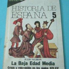Coleccionismo de Revista Historia 16: HISTORIA 16. HISTORIA DE ESPAÑA. Nº 5. ABRIL 1981. Lote 28605037